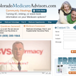 Colorado Medicare Advisors Website Design