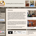 Hawkstone Builders Website Design