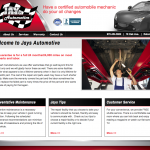Jays Automotive Website Design