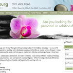 Jill Vosburg Website Design