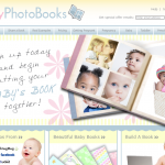 Baby Photo Books Website Design