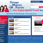 The Right Choice Team Website Design