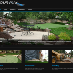 Tour Play Golf Website Design