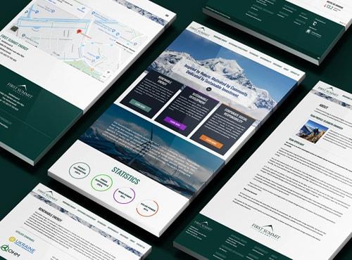 First Summit Energy Website