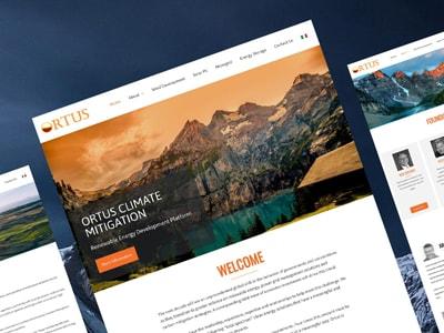 Ortus Climate Website